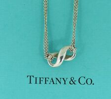Tiffany & Co Infinity Sterling Silver Pendant Necklace