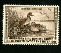 US Duck Stamps # RW6 Sup OG VLH Scott Value $100.00