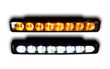 2x 12V LED DAYTIME RUNNING LIGHTS DAY LAMPS WITH SIGNAL INDICATORS E4 WATERPROOF
