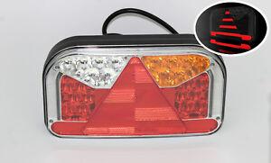 12V 24V GLOW-TRAC NEON LED rear right hand TAIL LAMP LIGHT 6-functional FRISTOM