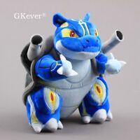 """8"""" Alola Blastoise & Kyogre Plush Stuffed Toy Animal Doll Kids Birthday Gift"""