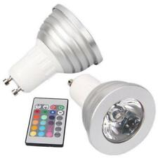 5 X 3W Ceiling Dimmable GU10 RGB LED Spotlight Bulb Color Changing With Remote