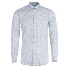 Camicie casual e maglie da uomo a manica lunga bianco