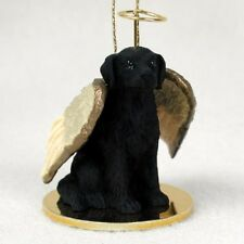 Flat-Coated Retriever Angel Tiny One Ornament Figurine Statue