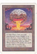 x1 Chaos Orb UNLIMITED MAGIC MTG ENGLISH 1993 EX VINTAGE !