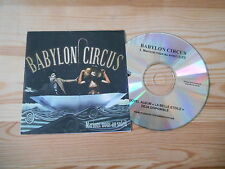 CD Ethno Babylon Circus - Marions-Nous Au Soleil (1 Song) Promo JIVE EPIC