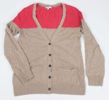 GAP Cardigan Sweater Rabbit Hair Beige Small S Women's Nylon Cotton