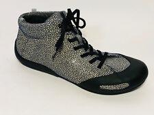Camper Schuhe Leder Sneaker Boots Größe 37 (UK 4 ) Schwarz Beige Grau