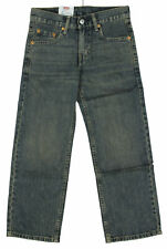 Levi's Youth Boys 550-3725 Relaxed Fit Regular Jeans Denim - Blue