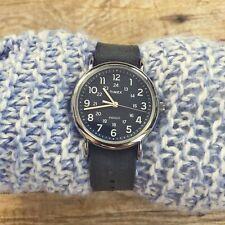 Timex Indiglo Nylon Strap Unisex Weekender Water Resistant 30 M Watch TW2P65700