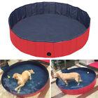 M Foldable Pet Swimming Pool Bathing Tub Bathtub Dog Bath Wassher 120*120*30CM