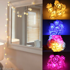 10 LED Rose Light Cozy String Fairy Lights For Bedroom Xmas Wedding Party,Feast