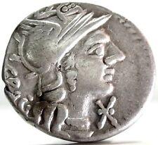 ROMAN REPUBLIC (ANTESTIA) Denarivs