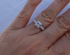.65ctH/Si1 antique vintage art deco engagement ring platinum plat