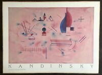 VINTAGE WASSILY KANDINSKY RARE LITHOGRAPH MUSEE NATIONAL ART MODERNE PRINT PARIS
