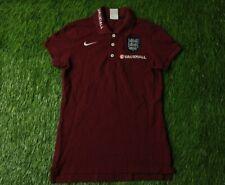 ENGLAND TEAM 2014/2015 WOMENS FOOTBALL POLO JERSEY SHIRT TRAINING NIKE ORIGINAL