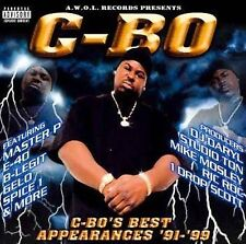 C-BO: Best Appearances [PA] ~ Sealed CD (2001) Master P E-40 Spice 1 Celly Cel