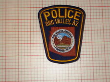 Oro Valley Arizona Police Patch