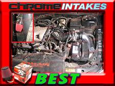K&N+BLACK RED 97 98 99 00 01-03 CHEVY MALIBU BASE/LS 3.1L V6 COLD AIR INTAKE 2P