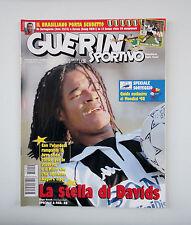 GUERIN SPORTIVO 1997- n. 50 - LA STELLA DI DAVIDS + SPECIALE SORTEGGIO FRANCE 98