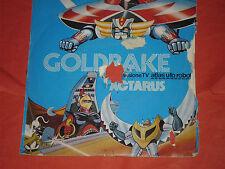 45 GIRI ORIGINALE GOLDRAKE ACTARUS-VEGA ATLAS UFO ROBOT VERSIONE TV CETRA 1978