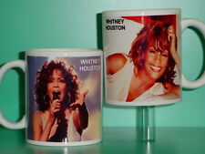 WHITNEY HOUSTON - with 2 Photos - Designer Collectible GIFT Mug