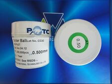 1 Bottle New 250K 0.50mm Leaded Balls BGA Reballing Solder Balls SN63 PB37