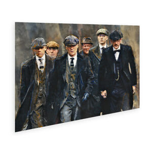 On A Mission - Birmingham Peaky Blinders wall art poster - Size Standard A2