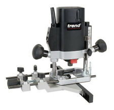 "Trend T5EB 1/4"" Variable Speed Plunge Router 240v"