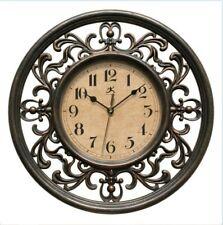 "Traditional Elegant Sofia 12"" Silent Sweep Non-Ticking Wall Clock Home Decor Art"