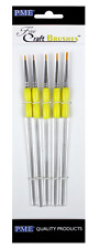 PME Fine Craft Brushes Set of 5  brushes Cake Decorating NEXT DAY DESPATCH