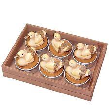 Deko Teelichtkerzen Teelichter Mit Tier Motiv Furs Wohnzimmer