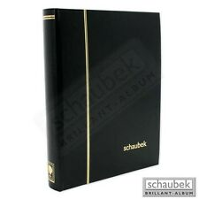 Schaubek Einsteckbuch schwarz 64 Seiten schwarz E5080/5