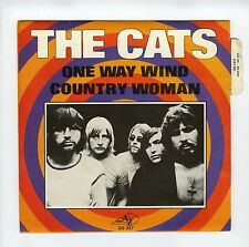 45 RPM SP THE CATS ONE WAY WIND