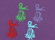 HULA GIRL Dancer die cuts scrapbook cards
