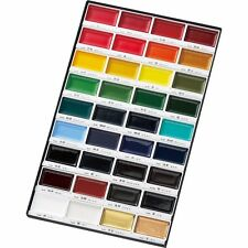 ZIG Kuretake Gansai Tambi : Japanese Water colour pan paint set of 36 colours