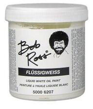 Bob Ross Liquid White Oil Paint 250ml - New Size - 6207