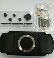 New Black For PSP1000 PSP 1000 Console Full Housing Shell Case Repair With Parts