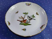 Herend Rothschild Vögel . 1 Beilagenschälchen flach 333 RO  . 1.Wahl  / 17,5 cm