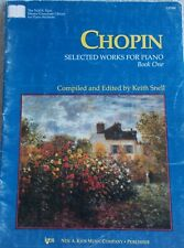 Chopin Selected Works Piano Bk 1 Edited Keith Snell Unmarked
