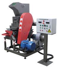 Industrial Compact Copper Wire Granulator Processes Low Grade Copper Separation