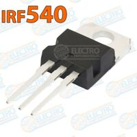 IRF540 Transistor potencia MOSFET 100v 22A 85W - Arduino Electronica DIY