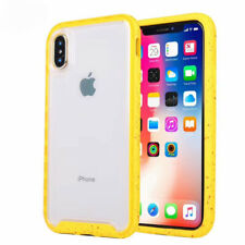 Shockproof Rubber Bumper Case For iPhone XS Max XR 6S 7 8P Traction Series Cover