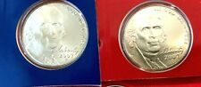 2007 P D S Jefferson Nickel Coin Set 2 Satin Coin's + PROOF