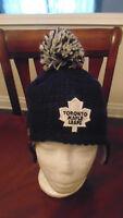Toronto Maple Leafs New Era   Hat Cap Tuque Child Size New NWT