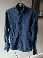 MARKS AND SPENCER AUTOGRAPH MENS MANS POLKA DOT SHIRT SIZE S SMALL SLIM FIT