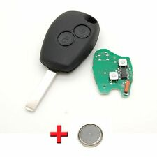 CLE COMPLETE TELECOMMANDE ELECTRONIQUE RENAULT CLIO 3 MODUS KANGOO 433 MHZ