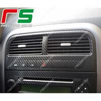fiat grande punto ADESIVI decal sticker bocchette climatizzatore carbonlook 4D