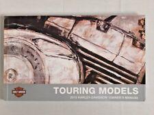 Harley-Davidson Touring Owner's Manual