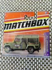 Matchbox Land Rover Anaconda Defender 110 Rarität OVP